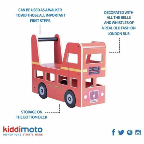 Tractor Ride On From Kiddimoto Specification