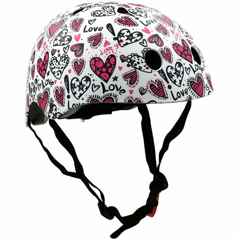 Image of Love Bicycle Helmet Kiddimoto