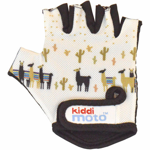 Image of Kiddimoto Llama Cycling Gloves