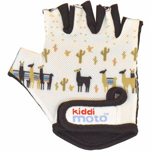 Kiddimoto Llama Cycling Gloves