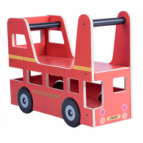 Image of Kiddimoto London Bus Ride On