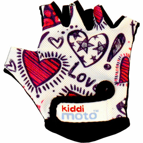 Kiddimoto Love Cycling Gloves