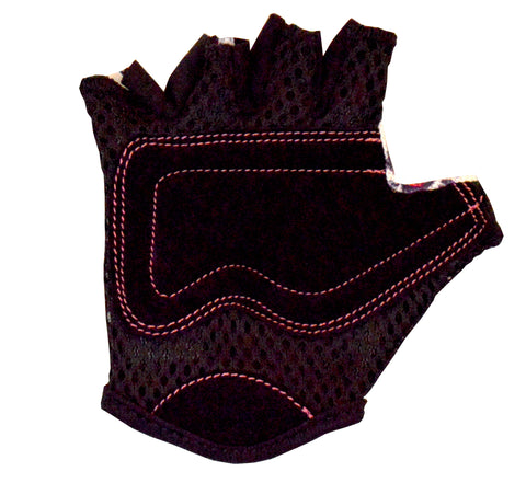 Image of Kiddimoto Love Cycling Gloves Backhand