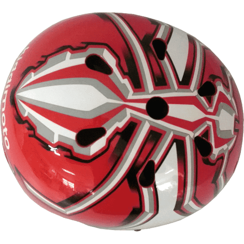 Image of MM93 2019 Helmet by Kiddimoto - Top View
