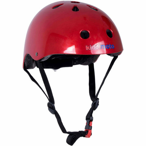 Image of Metallic Red Kids BMX/Bike Helmet