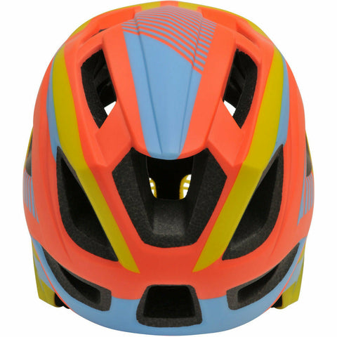 Image of Kiddimoto IKON Full Face Helmet | Orange/Yellow