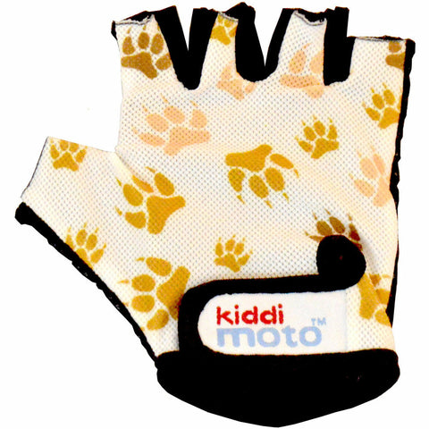 Image of Kiddimoto Paws Printed Cycling Gloves