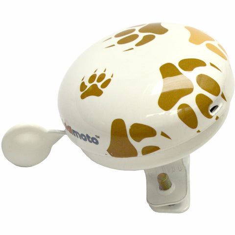 Image of Kiddimoto Paws Printed Bicycle Bell