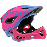 IKON Full Face Helmet - Pink/Blue