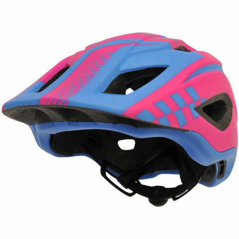 Kiddimoto IKON Full Face Helmet - Pink/Blue