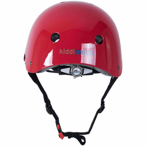 Image of Kiddimoto Red Goggle Bestselling Helmet For Kids