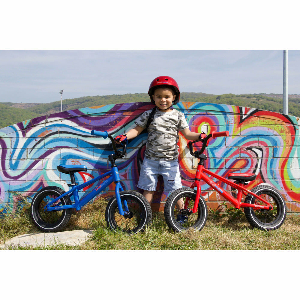 Kiddimoto Red BMX Balance Bike