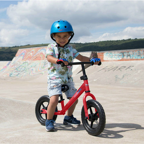Image of Kiddimoto Red Super Junior Metal Balance Bike