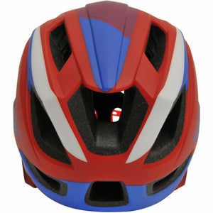Kiddimoto IKON Full Face Helmet - Red/Blue