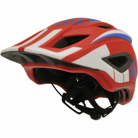 Image of Kiddimoto IKON Full Face Helmet - Red/Blue