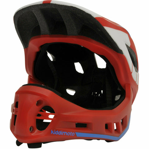 Image of IKON Full Face Helmet - Red/Blue