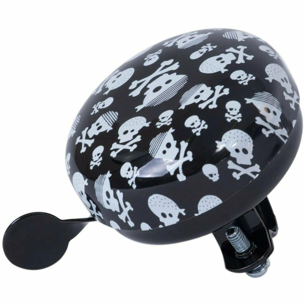 Kiddimoto Skull Bike Bell For Kids
