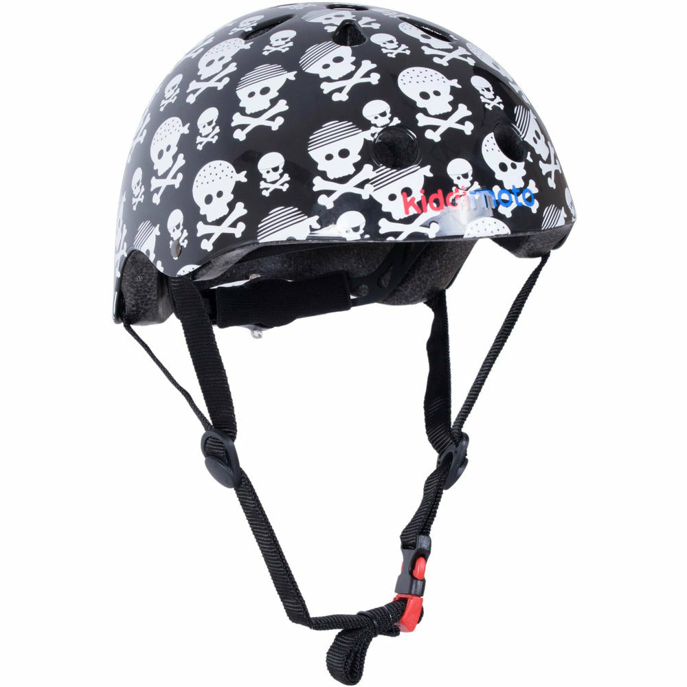 Kiddimoto Skull Print Helmet For Kids