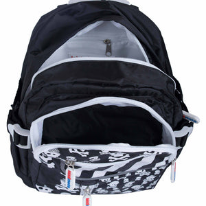 Kiddimoto Skull Pattern Backpack