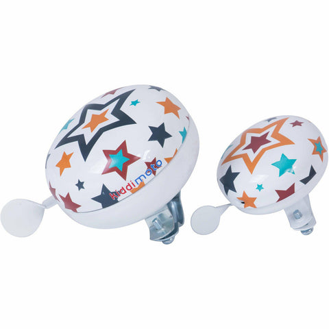 Image of Kids Star Print Bike Bell From Kiddimoto
