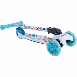 Kiddimoto Foldable Scooter Stars Design