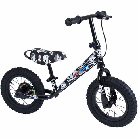 Image of Kiddimoto Skullz Super Junior Max Metal Balance Bike