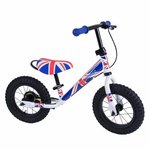 Image of Kiddimoto Union Jack Super Junior Max Metal Balance Bike