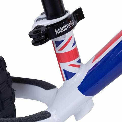 Kiddimoto Union Jack Super Junior Max Metal Balance Bike Bar