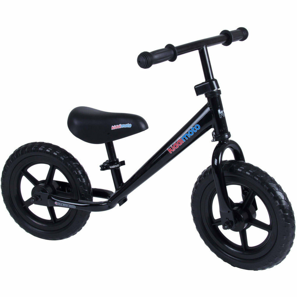 Black Super Junior Metal Balance Bike