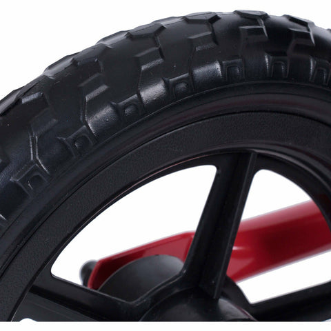Kiddimoto Red Super Junior Metal Balance Bike Tyre
