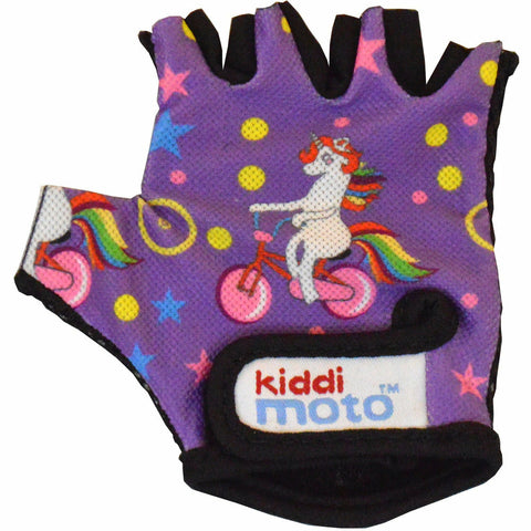 Image of Kiddimoto Unicorn Cycling Gloves