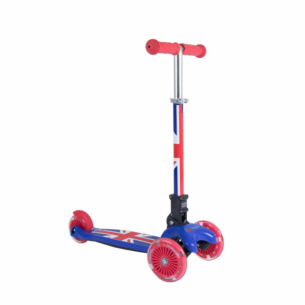 Kiddimoto Union Jack Kids Scooter