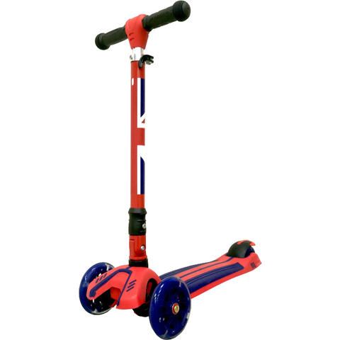 Image of Kiddimoto Union Jack Super u-Zoom Scooter