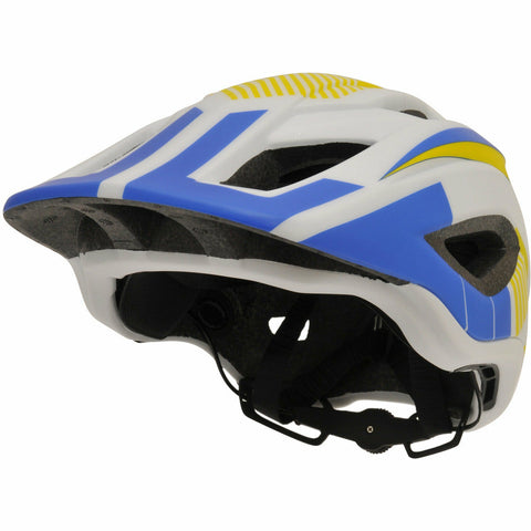 Image of Kiddimoto IKON Full Face Helmet - White/Blue