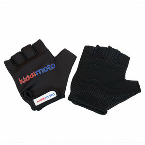 Kiddimoto Protective Kids Cycling Gloves Black
