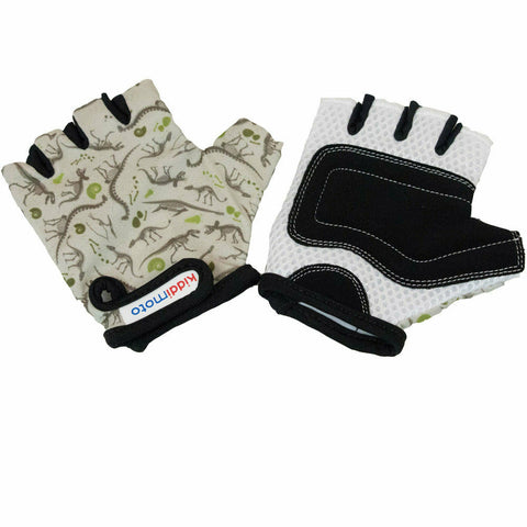Image of Kiddimoto Protective Bike Gloves Dinosaur