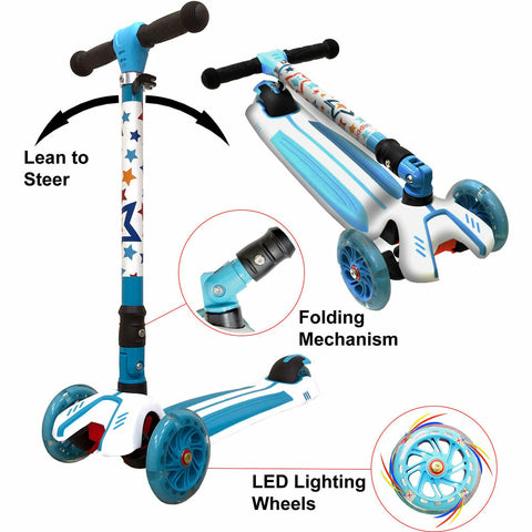 Kiddimoto Stars Super u-Zoom Scooter