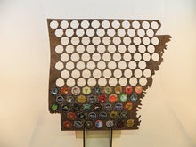 Load image into Gallery viewer, Arkansas Beer Cap Map