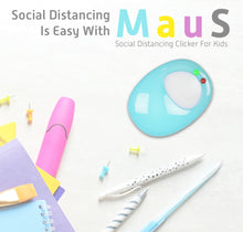 Load image into Gallery viewer, MAUS: Social Distancing Clicker For Kids