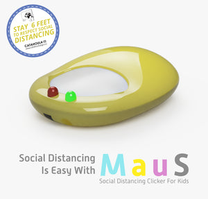 MAUS: Social Distancing Clicker For Kids