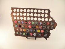Load image into Gallery viewer, Iowa Beer Cap Map