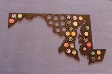 Load image into Gallery viewer, Maryland Beer Cap Map