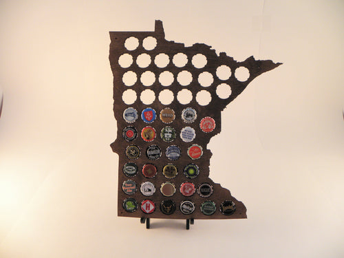 Minnesota Beer Cap Map
