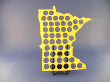 Load image into Gallery viewer, Minnesota Beer Cap Map