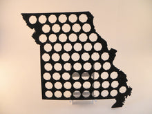 Load image into Gallery viewer, Missouri Beer Cap Map