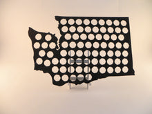 Load image into Gallery viewer, Washington Beer Cap Map