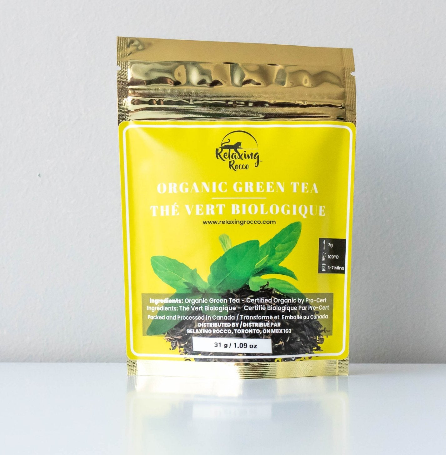 Relaxing Rocco Green Loose Leaf Tea