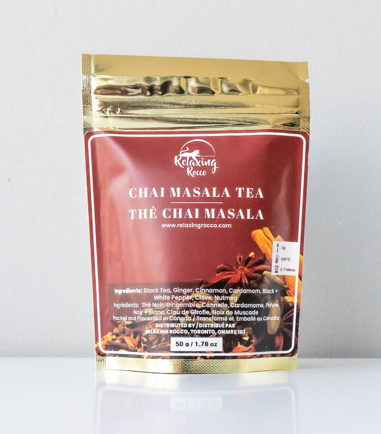 Package of Relaxing Rocco Chai Masala