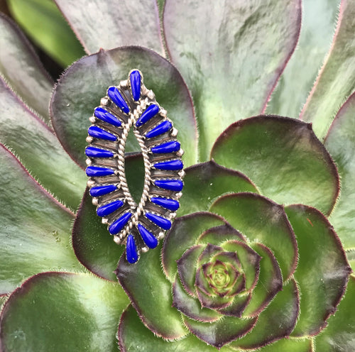 Lapis Lazuli and Sterling Silver Ring