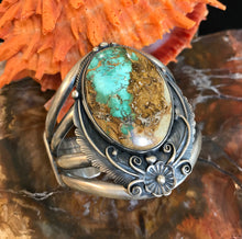 Load image into Gallery viewer, Royston Turquoise and Sterling Silver Bracelet